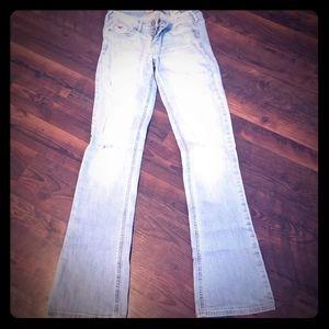 Girls bootcut Jean's